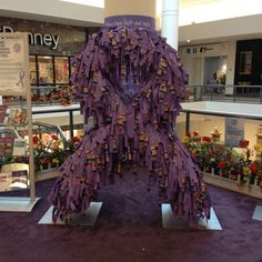 Roll out the Ribbon Campaign at the Monmouth Mall