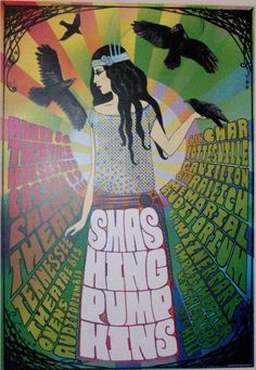 I love this Smashing Pumpkins poster!