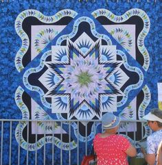 Glacier Star, Quiltworx.com, Sisters Outdoor Quilt Show
