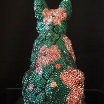 Swarovski, Edelweiss, Christmas Ornaments, Crystals, Holiday Decor, Pink, Atelier, Art Sculptures, Handmade