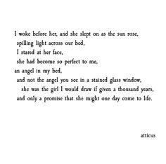 """""""Promise"""" @atticuspoetry #atticuspoetry"""