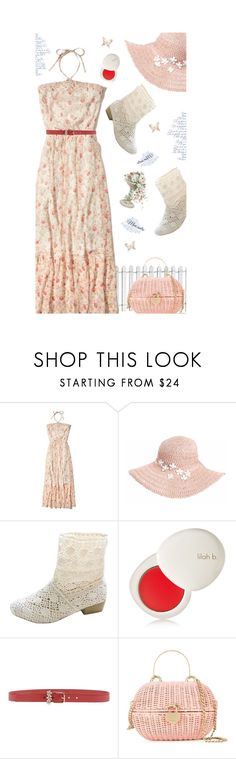 """""""Sweet Summer Days'"""" by dianefantasy ❤ liked on Polyvore featuring Hollister Co., Dorfman Pacific, lilah b., Dolce&Gabbana, Chanel, polyvorecommunity, contestentry, polyvoreeditorial and floralfever"""