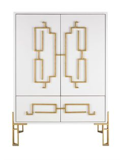 Currey and Company Zhin Cabinet 3258
