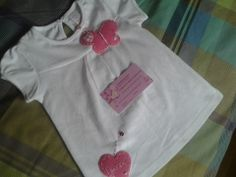 Camiseta bebe mariposa. bebe