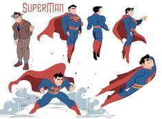 Superman And Lois Lane, Superman Art, Superman Man Of Steel, Superman Stuff, Superman Family, Character Drawing, Comic Character, Character Sheet, Marvel Dc