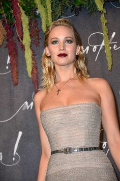 Jennifer Lawrence para la permite de Mother! en Paris