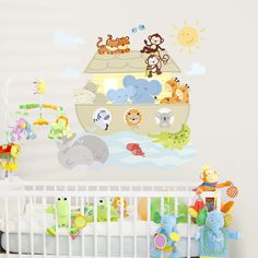 Noah's Ark Animals - Printed Wall Decals Stickers Graphics