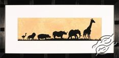 Parade Of Wild Animals - Cross Stitch Kits by LANARTE - PN-0008168