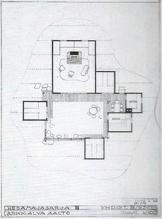 Alvar Aalto, AA Standard Summer Cottages, 1941