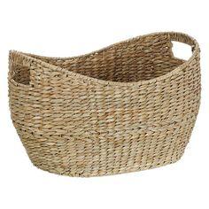 BuyJohn Lewis Oval Twist Seagrass Basket Online at johnlewis.com