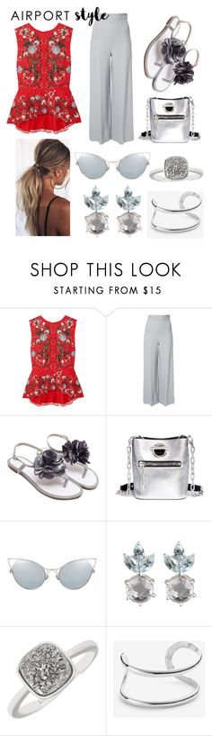 """""""Happy Hour on the Isle of Capri🌴🍷"""" by mdfletch ❤ liked on Polyvore featuring Erdem, Roland Mouret, Alexander Wang, Ann Taylor and airportstyle"""