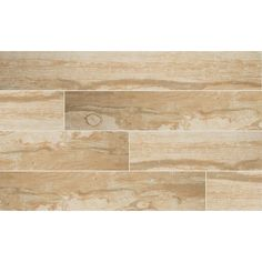 MS International Salvage Honey 6 in. x 40 in. Glazed Porcelain Floor and Wall Tile (13.28 sq. ft. / case)