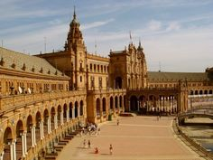#plaza #spain #sevilla