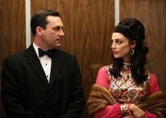 Just as compelling as the drama on Mad Men are the show's costumes. The 1950s and '60s came alive on screen with meticulously researched, expertly crafted designs from one very dedicated woman. POPSUGAR asked costume designer Janie Bryant to pick the most-iconic looks from the past seven seasons...