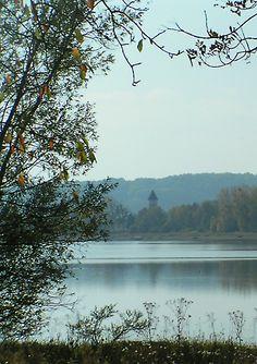 lac de Villegusien non loin de Langres en Champagne.