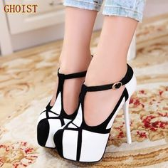 b24bc8cd3033 new 2014 fashion shoes woman sexy ultra high heels platform pumps women s  wedges shoes T Strap