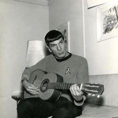 Spock on a G-string