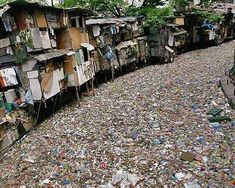Citarum River, Indonesia The Citarum has been called the world's most polluted river. Around 5 million people live in the river's basin, and most of them rely on its flow for their water supply. (photo - EPA) Water Pollution Facts, Bodhi Tree, Water Supply, Wilderness, Street View, Earth, River, World, Places