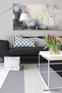 Modernisti Kodikas: 10 kuvaa olohuoneesta