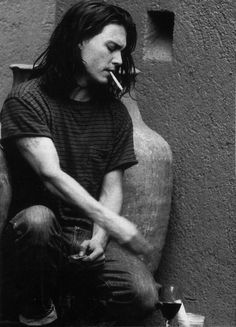Johnny Depp. I always think smoking is the least attractive thing ever. But on him... anything is yummy.