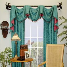 23 Best Swag Pole Images Window Treatments Curtains