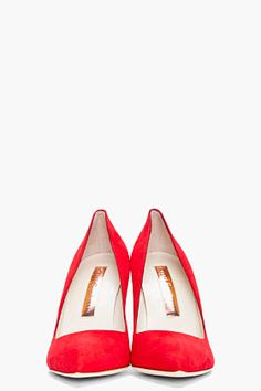 perfect red heels.