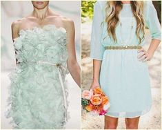 Vestidos de novia 2014: Fotos de diseños sencillos para una boda civil - Look…