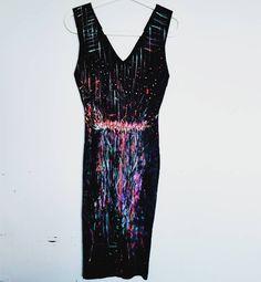 "43 Me gusta, 3 comentarios - Uptist On Line (@uptistonline) en Instagram: ""Happy time dress #art #acrilico #acrylicpainting #dream #art🎨 #arte #uptist #pintura #abstractart…"" Textiles, Line, Abstract Art, Instagram Posts, Dresses, Fashion, Vestidos, Moda, Fishing Line"