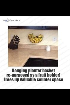 Nice way to keep you counters clutter free