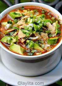 Just a good recipe: Chicken or turkey tortilla soup