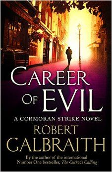 The third instalment of the Cormoran Strike novels. A seriously dark book that follows the private investigator's hunt for a killer.