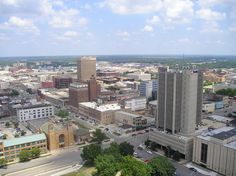 Topeka, Kansas, the Kansas state Capital. This was just a drive-through with daddy.