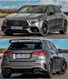 Mercedes Hatchback, Mercedes A45 Amg, Mercedes Benz Models, Classe A Amg, Amg Car, Tuner Cars, Unique Cars, Mitsubishi Lancer Evolution, Motor Car