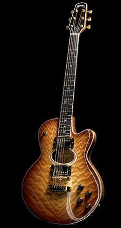 Grimes Guitars Bird of Paradise #LardysWishlists #Guitar ~ https://www.pinterest.com/lardyfatboy/ ~