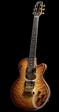 Grimes Guitars Bird of Paradise #LardysWishlists #Guitar ~ https://www.pinterest.com/lardyfatboy/ ~