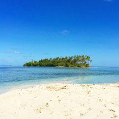 Beautiful Virgin Island in the Maldives