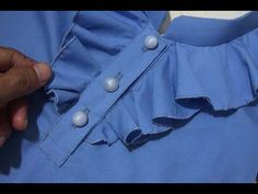 hi friends In this video you will learn Front neck Design how to create front neck designs in kurtis How to set up the designs you can make in the Patiyala s. Neck Designs For Suits, Fancy Blouse Designs, Blouse Neck Designs, Kurti Sleeves Design, Kurta Neck Design, Dress Sewing Patterns, Clothing Patterns, Sewing Collars, Churidar Neck Designs