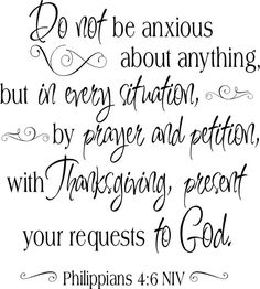 Philippians 4:6
