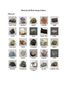 Mineralienatlas Lexikon - Bilderstreifen