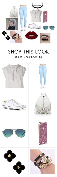 """""""school"""" by esteffa on Polyvore featuring adidas, Converse, Rebecca Minkoff, Tiffany & Co., Charlotte Russe, Tory Burch y Lime Crime"""