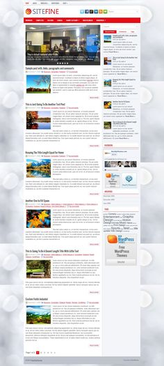 Sitefine - Download Free WordPress Theme by NewWpThemes