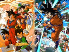 DRAGONBALL on bucket list cause I wanna watch em all, since I was sheltered as a kid and never watched it... lol