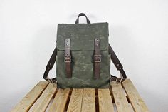 Waxed canvas backpack Waterproof canvas backpack Leather backpack Canvas rucksack Laptop backpack Canvas leather backpack Canvas backpack School backpack Traditional design and timeless canvas construction steeps this backpack with a sense of nostalgia. There's capacity here to