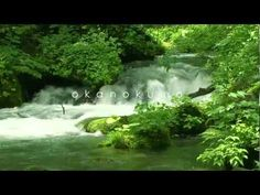 Beautiful and relaxing mountain stream... Oirase Japan 10 min. VIDEO: