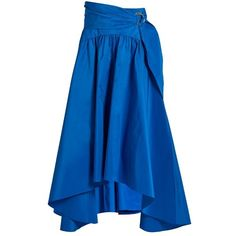 Peter Pilotto Taffeta midi skirt (42,040 INR) ❤ liked on Polyvore featuring skirts, peter pilotto skirt, mid calf skirts, peter pilotto, taffeta skirt and midi skirt
