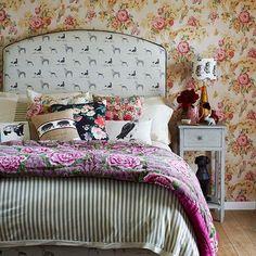 Casinha colorida: Quartos, camas e cabeceiras especiais