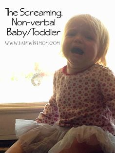 The Screaming Non-Verbal Baby/Toddler