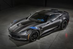 The Grand Sport nameplate can trace its roots all the way back to the 1960s when one rogue #Corvette engineer began to sneak motorsport-spec bits on road-going models for customers during a company-wide racing ban. From there the Grand Sport name grew throughout the Corvette model history to the new 2017 Corvette Grand Sport of today. The new sports car has everything from motorsport-derived suspension bits to custom wheels, and lots more. Discount Wheels www.wheelhero.com