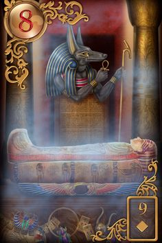 Lenormand's Coffin card. 'The one thing you will all face is your physical death. And you still fear that eminent moment that transports you instantly back to that beautiful, amazing, 'beyond-words place' called Source!' - Team Spirt