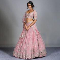 Wedding Saree Blouse, Lehenga Wedding, Indian Fashion Dresses, Indian Outfits, Indian Clothes, Latest Bridal Lehenga Designs, Heavy Lehenga, Bridal Lehngas, Indian Designer Suits